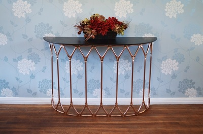 Geodesic Console Table by Connor Holland