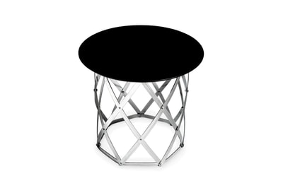 Geodesic Cylinder Table by Connor Holland