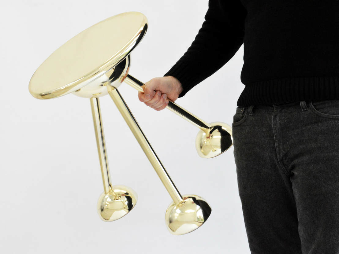 Apollo Tripod table by Connor Holland