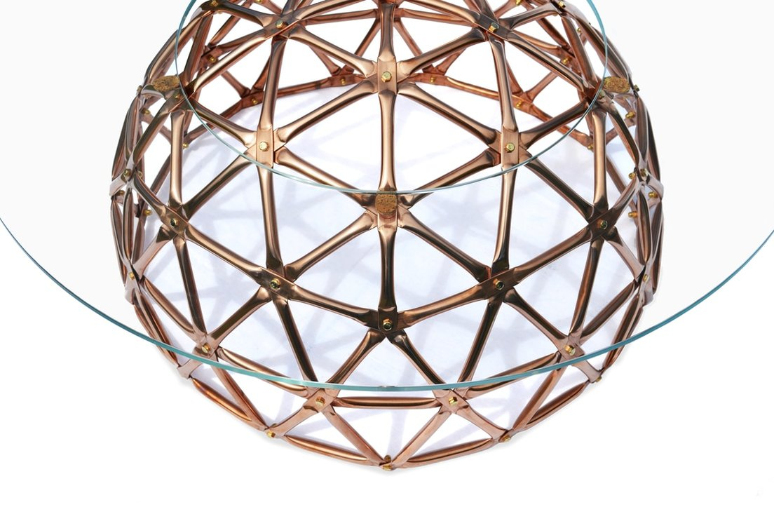 geodesic dome table connor holland design