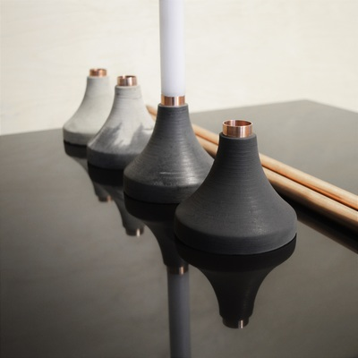 Volcano Candlesticks by Connor Holland