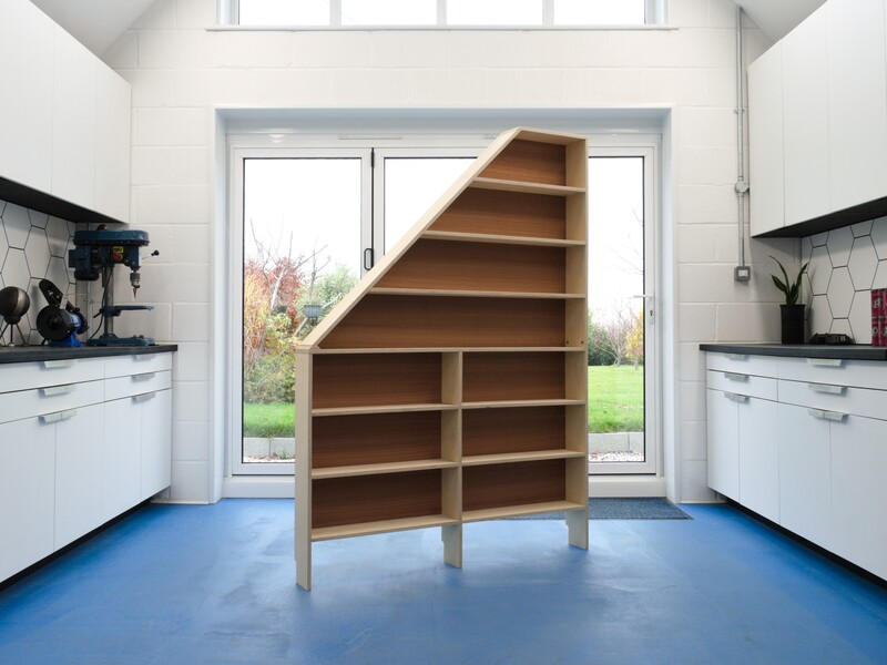 Slope Bookcase by Connor Holland