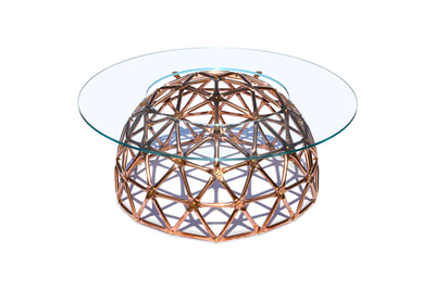 Geodesic Dome Table by Connor Holland