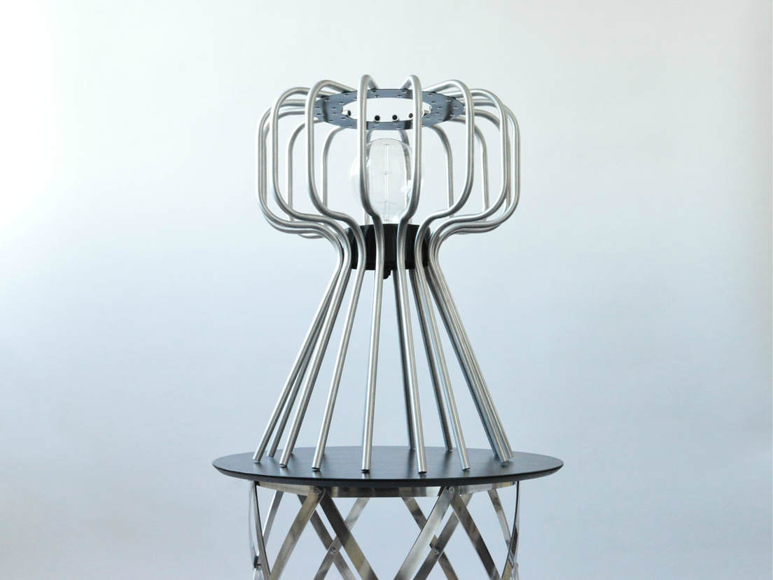 Aluminium Neptune table Lamp by Connor Holland